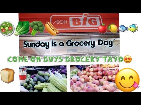 #SundayisaGroceryDay AEON BIG