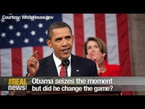 Obama seizes the moment but did he change the game?