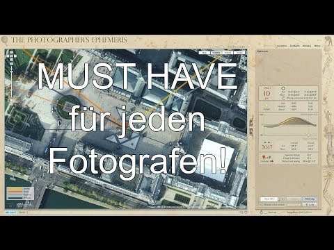 Software-Tipp für Fotografen: The Photographer's Ephemeris (Part 1)