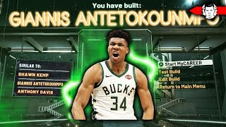 NEW GIANNIS BUILD BREAKS THE GAME!! THE BEST BUILD IN NBA 2K20