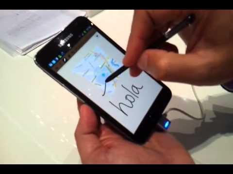 samsung-galaxy-note,-móvil,-tablet-y-block-de-notas