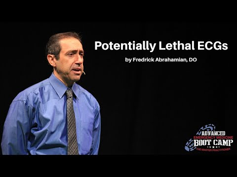 Potentially Lethal ECGs | The Advanced EM Boot Camp ECG Workshop
