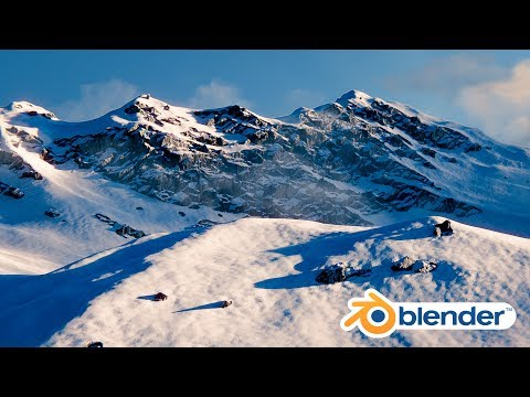 Blender Tutorial - Create Realistic Mountains Free!