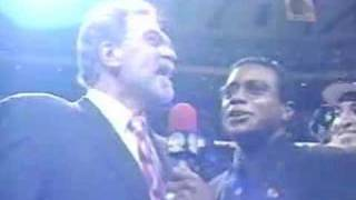 1997 NBA on NBC - Game Six Postgame Interviews and Celebration