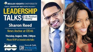 5a02e257db43 Leadership Talks With Rashad Richey   Sharon Reed ...