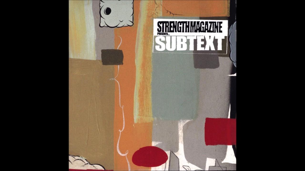 Strength Magazine Presents Subtext (1999 Full CD) Underground Real Hip Hop
