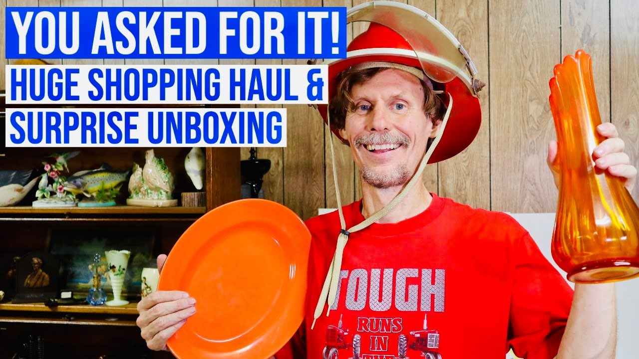 SHOPPING HAUL | RESELLING ANTIQUES & VINTAGE | FRIEND MAIL