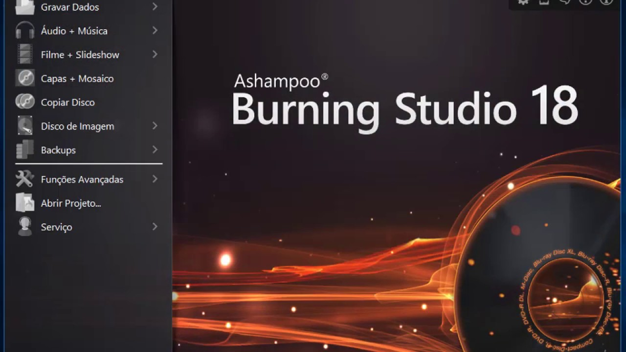 Ashampoo Burning Studio 18 screenshot 1