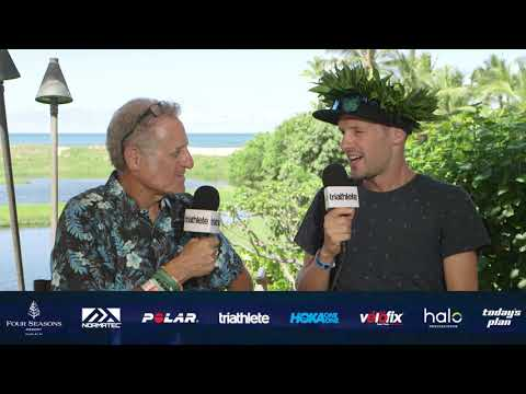 2018 Championship Edition of Breakfast with Bob from Kona: Mens Champion Patrick Lange