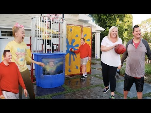 FAMILY DUNK TANK CHALLENGE!!!