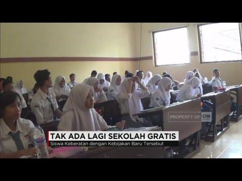 Tak Ada Lagi Sekolah Gratis di Jawa Timur