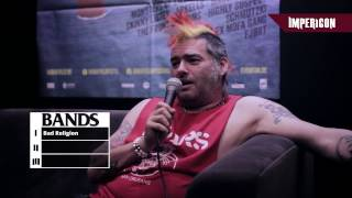 We've met up with Fat Mike and asked him his favourite three things...