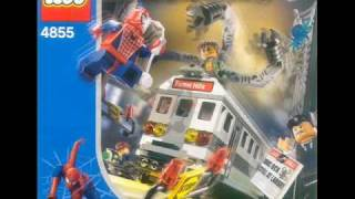 Lego Spiderman Sets And Figures