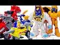 Power Rangers & Marvel Avengers Toys Pretend Play   Zords vs Villain Robots! Superhero Rescue