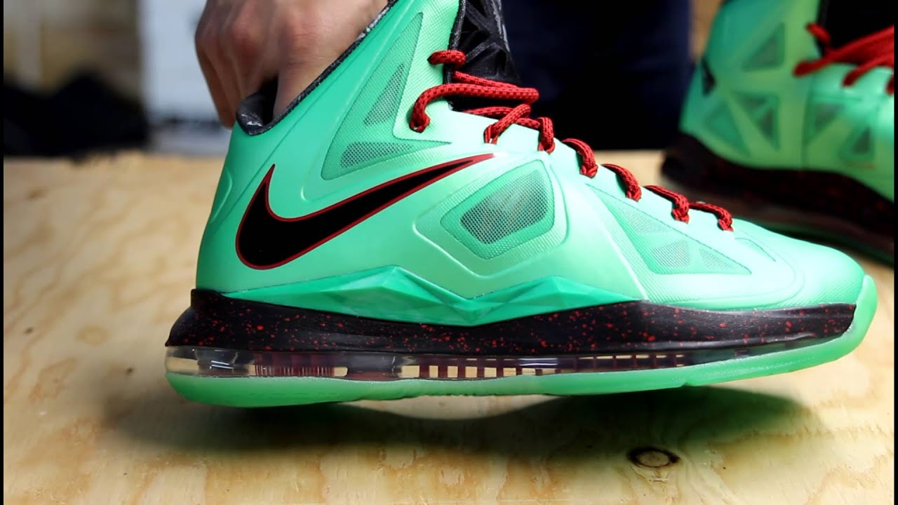 newest 4b288 b6015 LEBRON X- CUTTING JADE- UNBOXING VIDEO