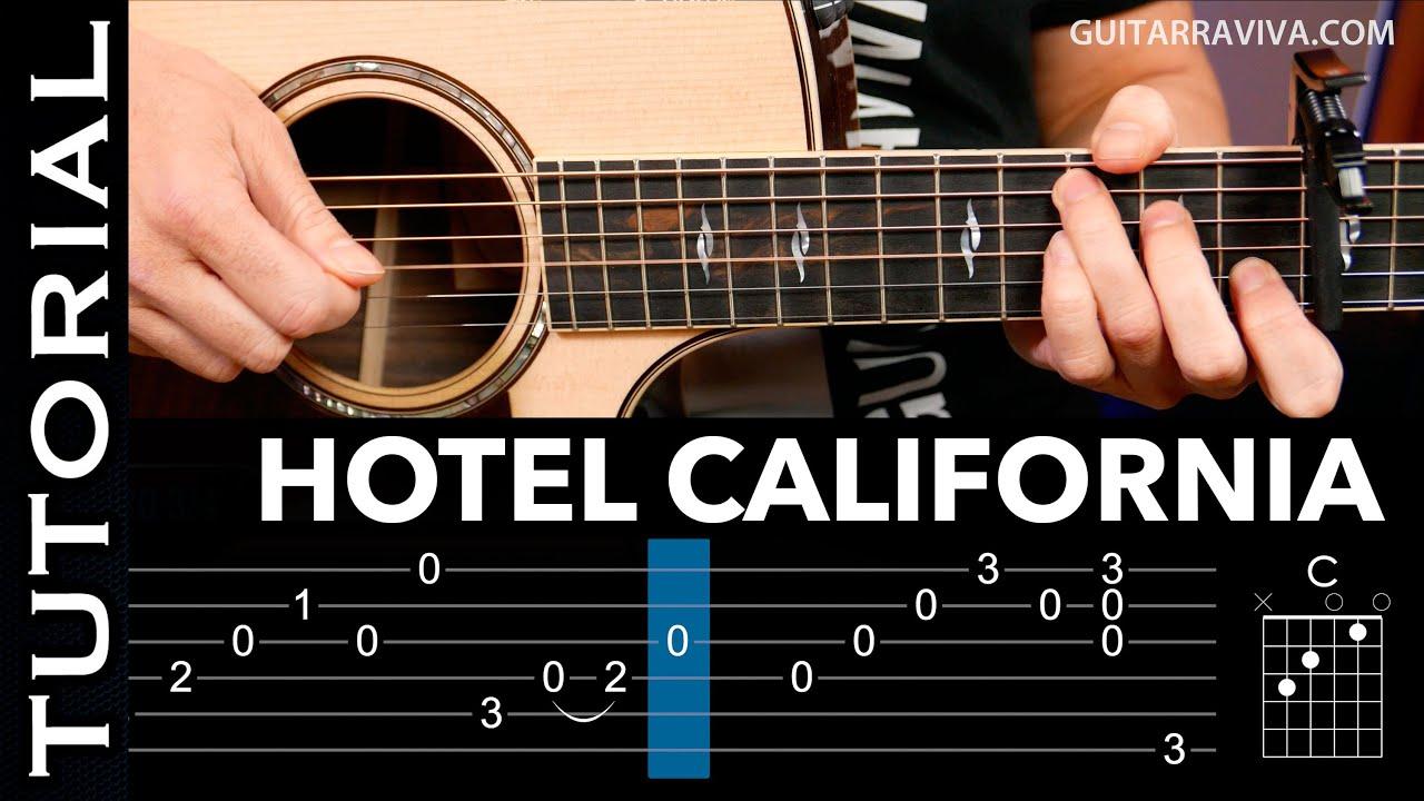 c mo tocar hotel california en guitarra ac stica arpegios y acordes por guitarraviva youtube. Black Bedroom Furniture Sets. Home Design Ideas