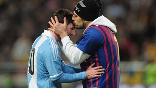 Lionel Messi & Pitch Invaders ● Respect!