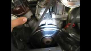 réglage allumage a la lampe stroboscopique d'un moteur 1300cc de cox
