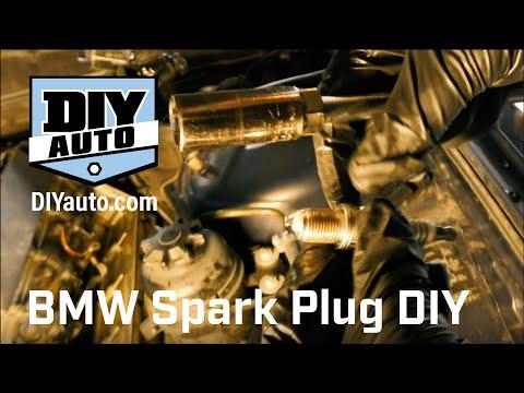 BMW M62 and M60 V8 Spark Plug DIY Video
