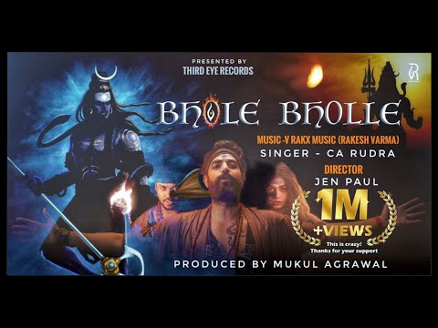 BHOLE BHOLLE : Official Video | Bhole Song 2021 | CA Rudra Feat V Rakx Music | Jen Paul | Ankita