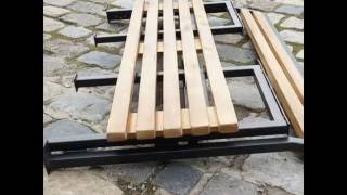 Скамейка садовая сборно/разборная(, 2016-06-08T14:49:54.000Z)