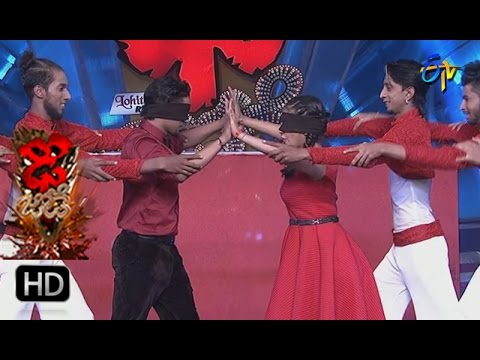 Vinay and Rishika Performance | Dhee Jodi | 15th March 2017 | ETV Telugu