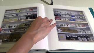 "Reading From ""Relics"" Damien Hirst Part 2 - Page Flipping & Tapping Sounds *ASMR*"