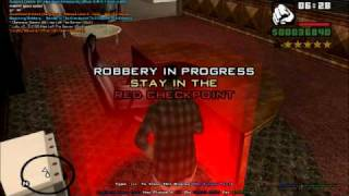 GTA SA-MP - robbing Crazy Bob's place