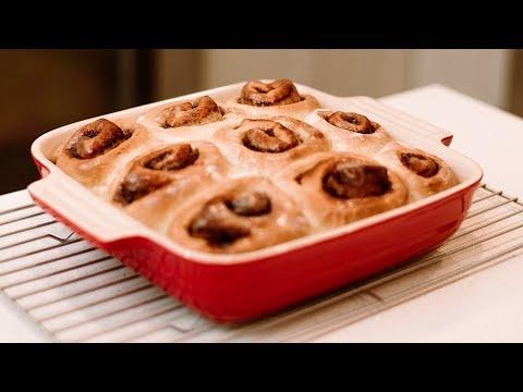 Liv B for CBC: Vegan maple cinnamon rolls