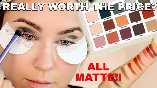 NATASHA DENONA SAFARI ALL MATTE EYESHADOW PALETTE REVIEW! PAY OR PASS!? | Beauty Banter