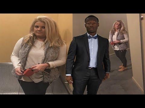 White Woman Blocks Black Man From Entering Luxury Loft & Follows Him Home