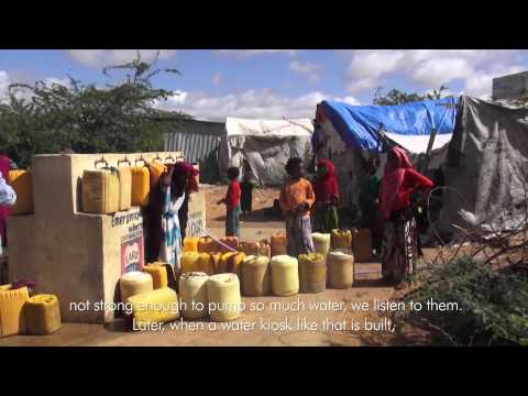Improving daily life for Somalia's internally displaced