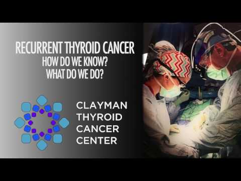 Recurrent Thyroid Cancer - How Do We Know? What Do We Do?