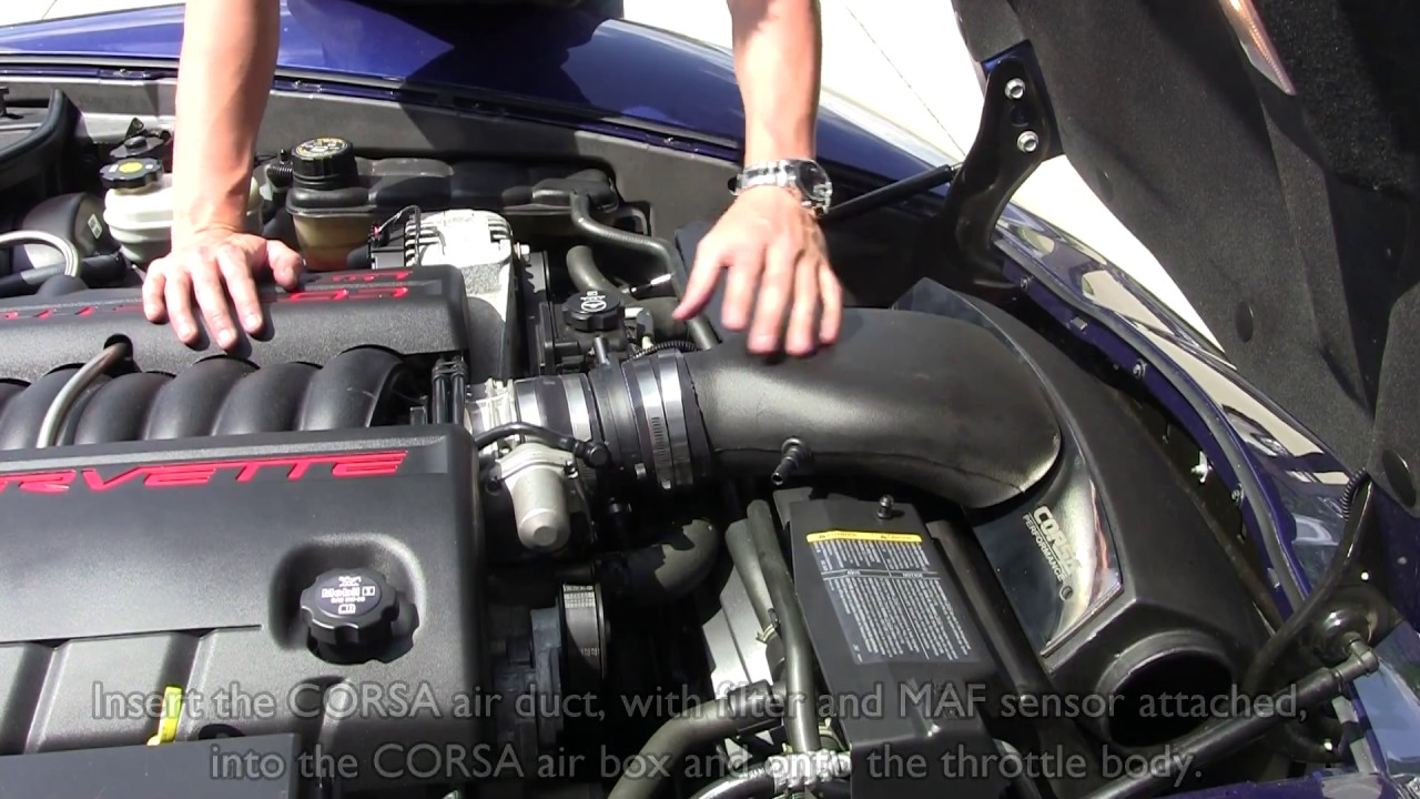 2005-2007 Chevrolet Corvette Performance Cold Air Intake System Kit ...