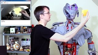 XRobots - Avengers Ultron Part 25, A REAL ROBOT - Vision and Force Sensor Feedback
