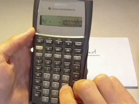 Simple And Compound Interest On A Ba Ii Plus
