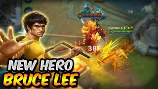 NEW HERO BRUCE LEE IS AMAZING! (First look, Review, Gameplay) - Heroes Evolved