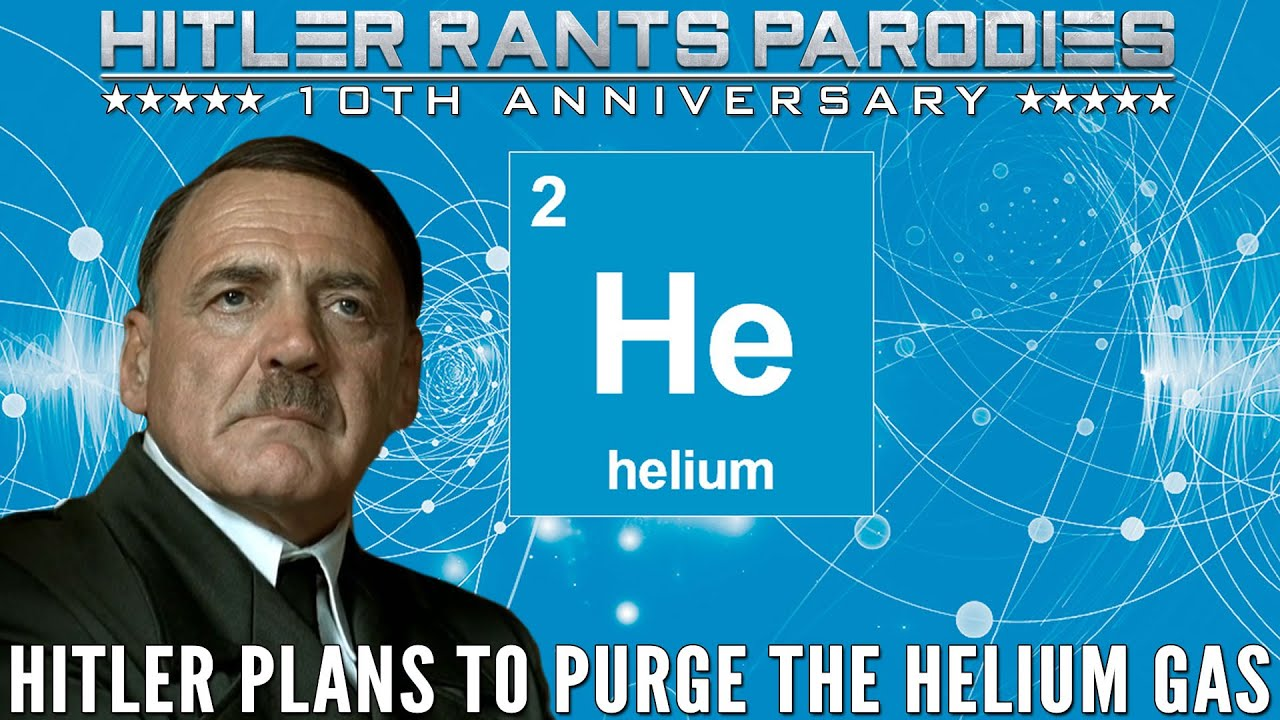 Hitler plans to purge the helium gas