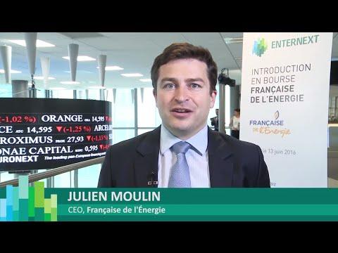 Listing of la Française de l'Energie on Euronext