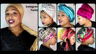 Head Wraps TUTORIAL (Chemo & Hair loss friendly) [See Timeline]