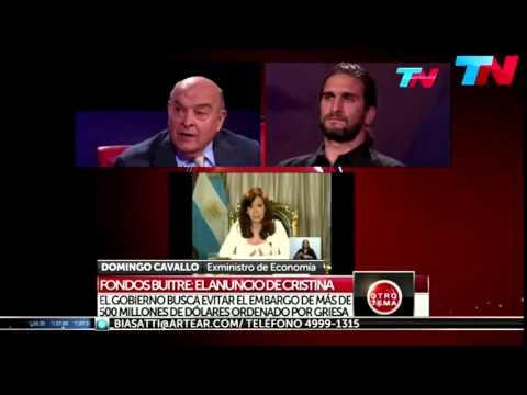 Debate entre el economista Andrés Asiain y el ex-ministro Domingo Cavallo