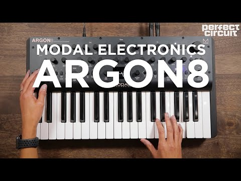 Modal Electronics Argon8 Polyphonic Wavetable Synthesizer