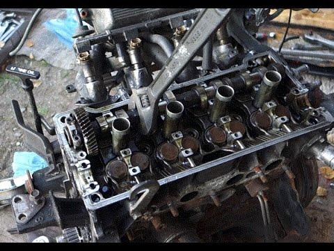 Camshaft replace Toyota 4AFE and 7AFE engines