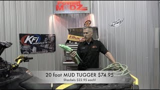 MUD TUGGER ROPE, how to use and on sale!  $74.95!