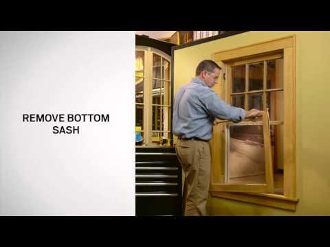 Window Replacement Using Andersen 100 Series Single-Hung Windows