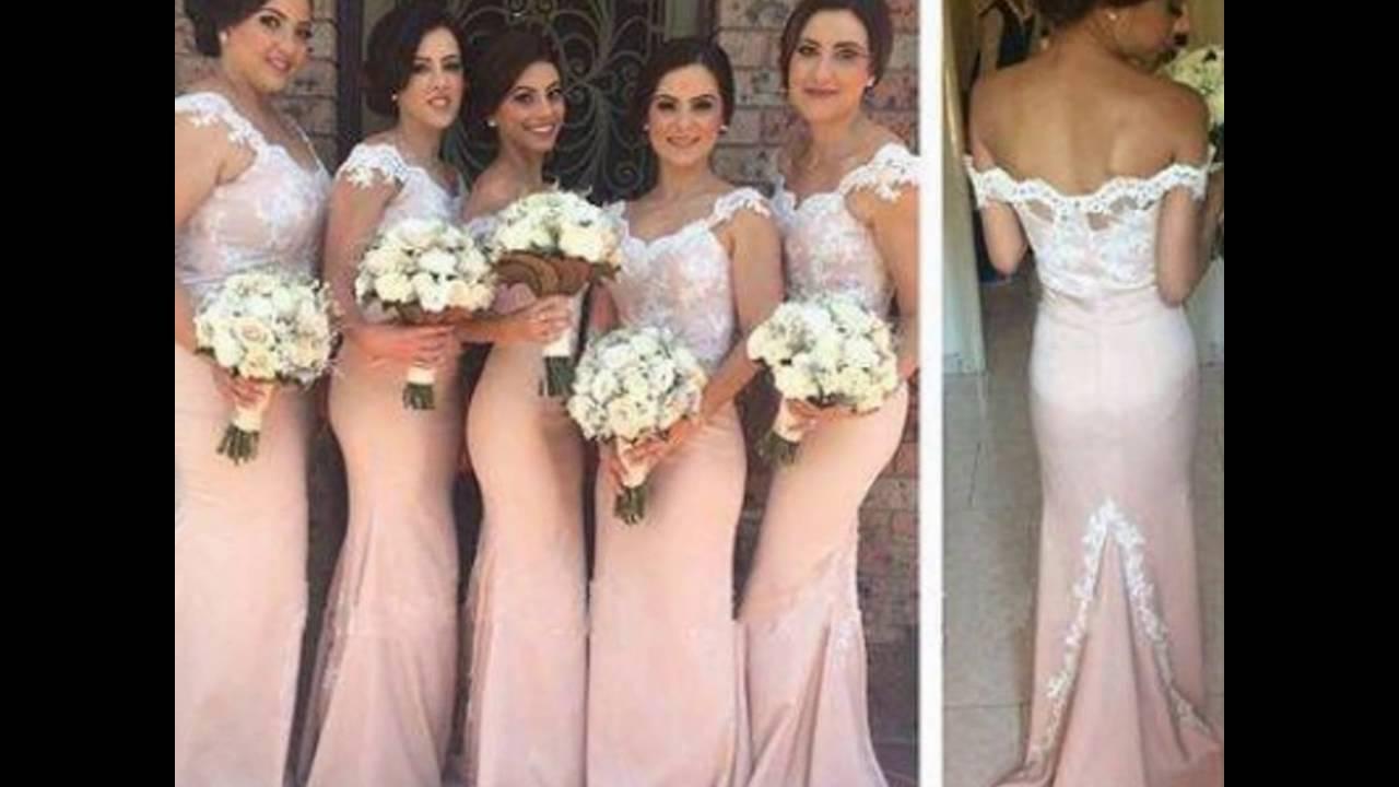 Vestidos elegantes para damas de boda