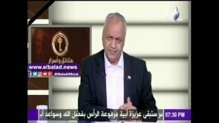 محمد عبد العزيز يرثي «شهداء سيناء» ببيت شعر على الهواء.. فيديو