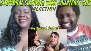 David Dobrik -  EMOTIONAL SURPRISE WITH COURTENEY COX!!REACTION
