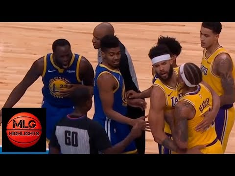 Draymond Green wanna fight with Michael Beasley  Beasley gets ejected