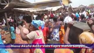 Visit to Fiapre Market, Sunyani